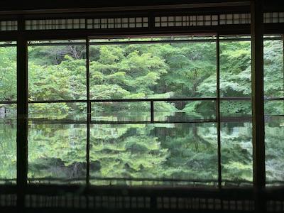 瑠璃光院・真横から撮影