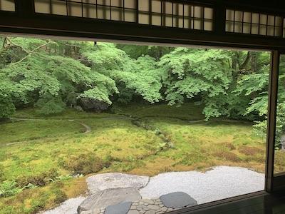 瑠璃光院・お庭