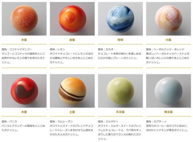 レクラ惑星チョコ